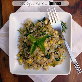 Basil Spinach & Corn Quinoa.