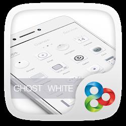 Ghost White Go Launcher Theme