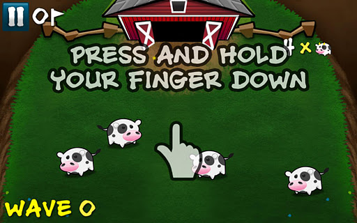 Cows Vs Aliens screenshot 2