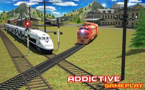 Train Driving Simulator USA: Train Games 3D 7