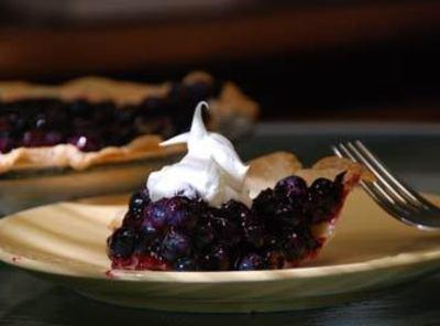 No Bake Blueberry Pie Recipe