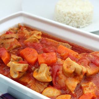 Delicious Tomato and Pork Casserole