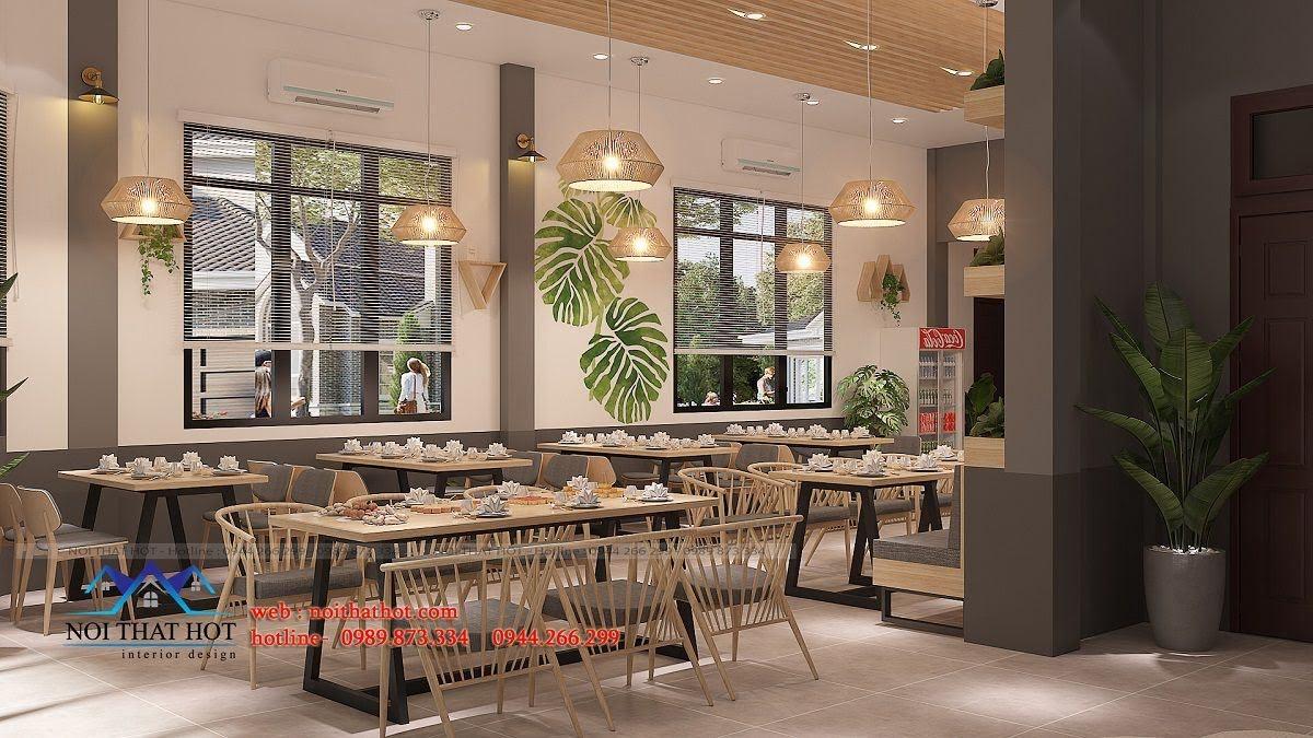 thiết kế nhà hàng trường giang 10
