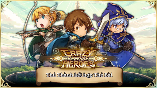 Crazy Defense Heroes: Anh Hùng Tháp quốc phòng