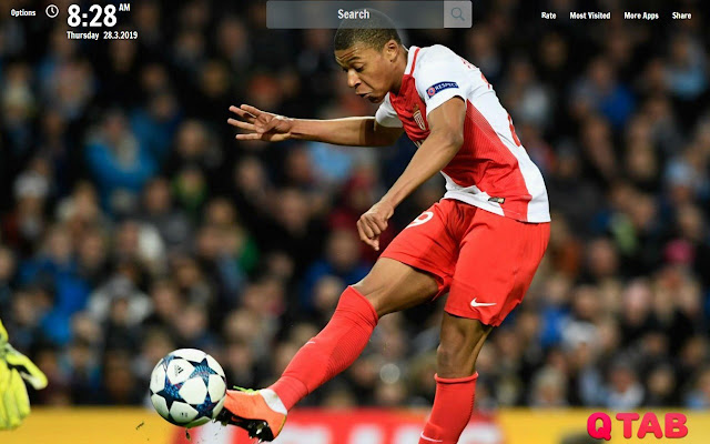 Mbappe New Tab Mbappe Wallpapers
