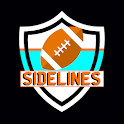 Sidelines : American Football Manager Card Game icon