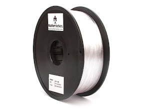 Clear Translucent PETG Filament - 1.75mm (1.0kg)