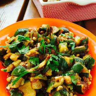 Best Ever Summer Courgette Salad.