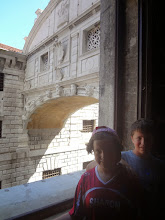 Photo: View of the Bridge of Sighs