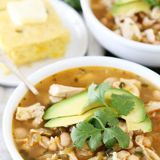 White Chicken Chili With Cilantro Recipes