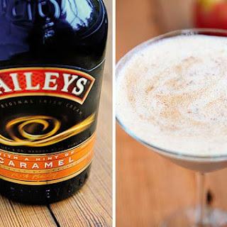 Bailey's Caramel Apple Cocktail.
