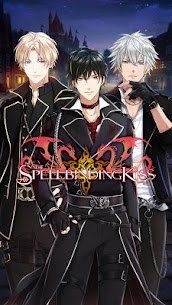 The Spellbinding Kiss : Hot Anime Otome Dating Sim  Apk Download For Android and Iphone 5