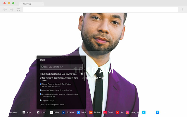 Jusie Smollet Pop Star HD New Tabs Themes