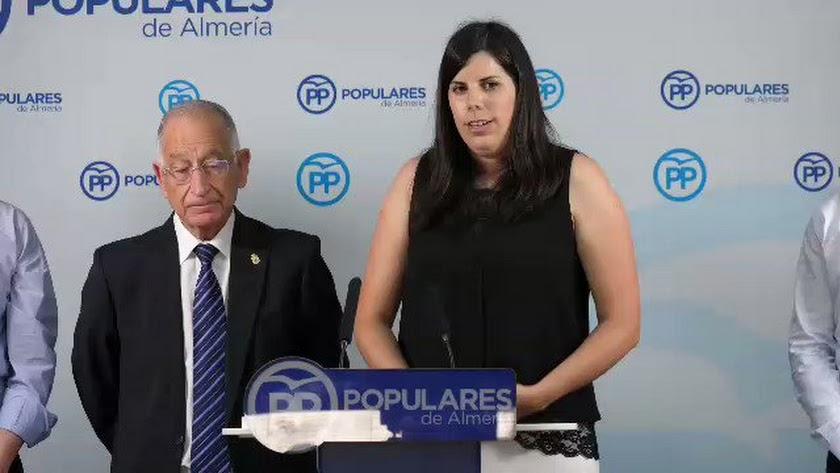 Imagen de archivo de la alcaldesa de Laujar.