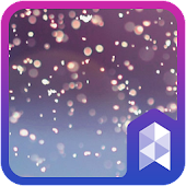 Twinkling particle theme