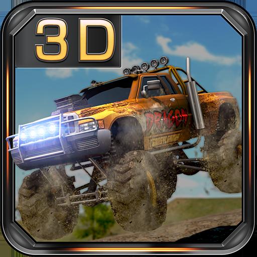 怪物卡車賽車遊戲 體育競技 App LOGO-硬是要APP