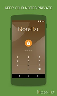 Note list - Notes & Reminders- screenshot thumbnail
