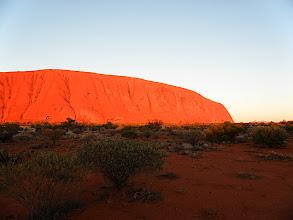 Photo: Dawn at Uluru