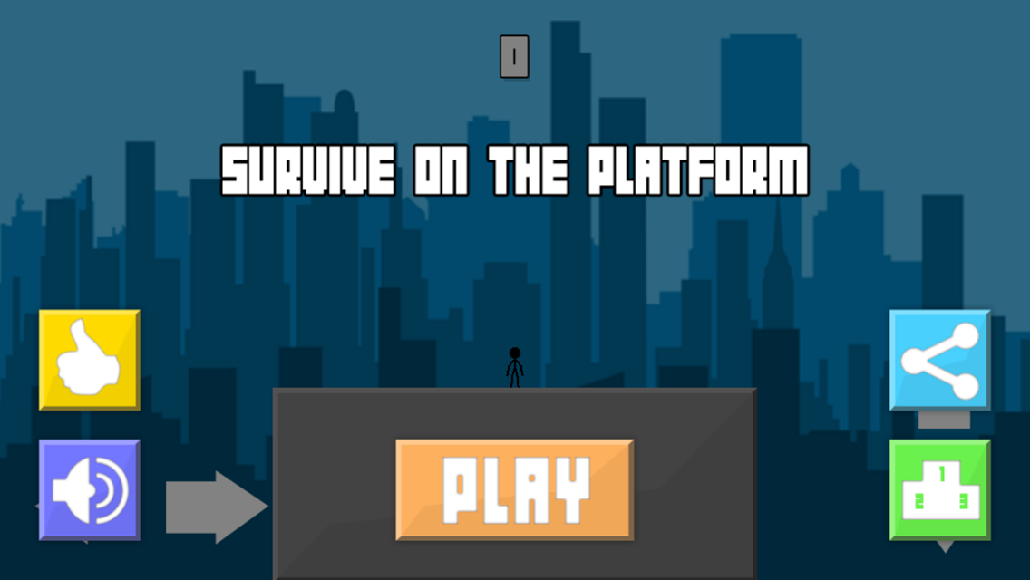 Survive on the platform- screenshot