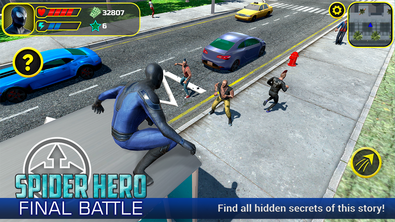 Spider Hero: Final Battle- screenshot