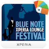 XPERIA™ Blue Note Theme