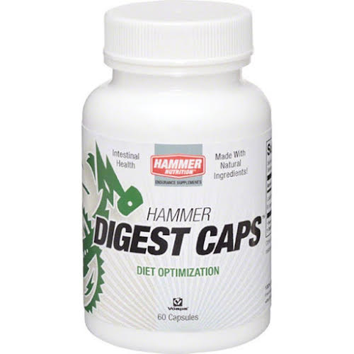 Hammer Nutrition Hammer Digest Caps: Bottle of 60 Capsules