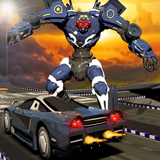 Superhero Robot Grand City