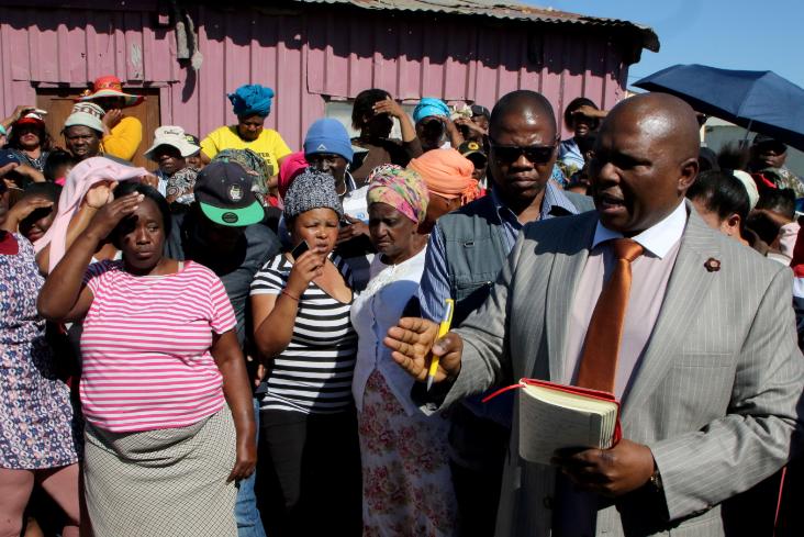 Die inwoners van die gefrustreerde baai het president Who Who - HeraldLIVE, burgemeester