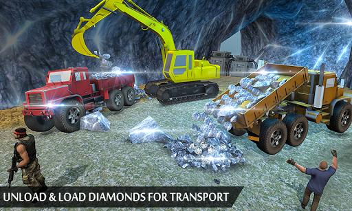 Grand Excavator Simulator - Diamond Mining 3D screenshot 4