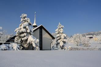 Photo: Kloster im Schnee