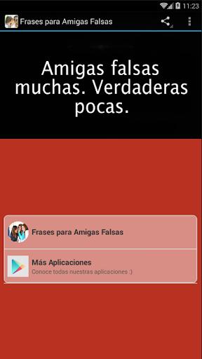 скачать Frases Para Amigas Falsas Google Play Apps