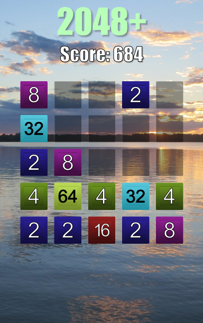 2048 Plus- screenshot