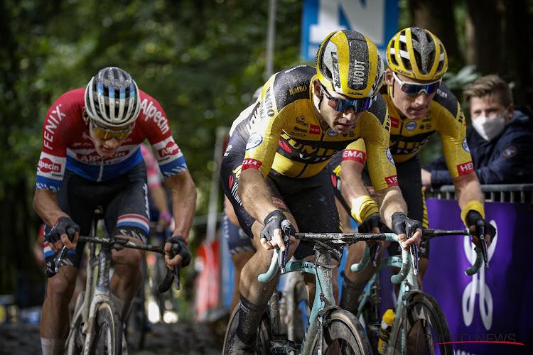 Van der Poel niet bang van sprint met Wout van Aert in Ronde van Vlaanderen
