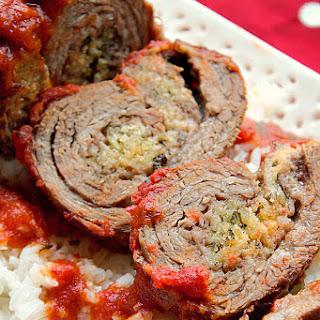 Easy Beef Braciole