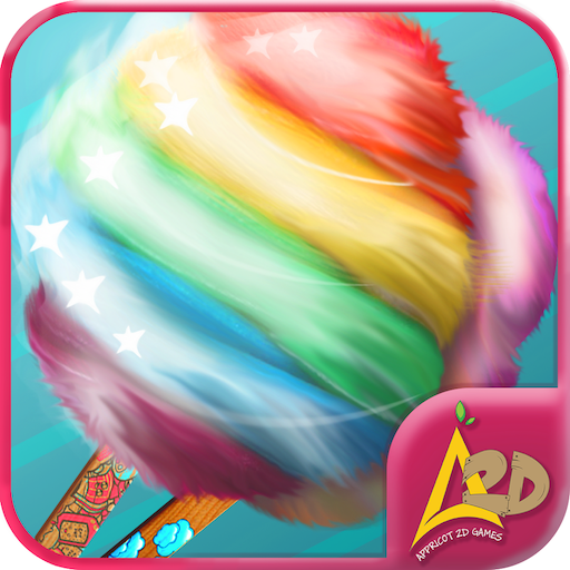 Cotton candy maker – kids game 休閒 App LOGO-硬是要APP
