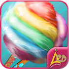 Cotton candy maker icon
