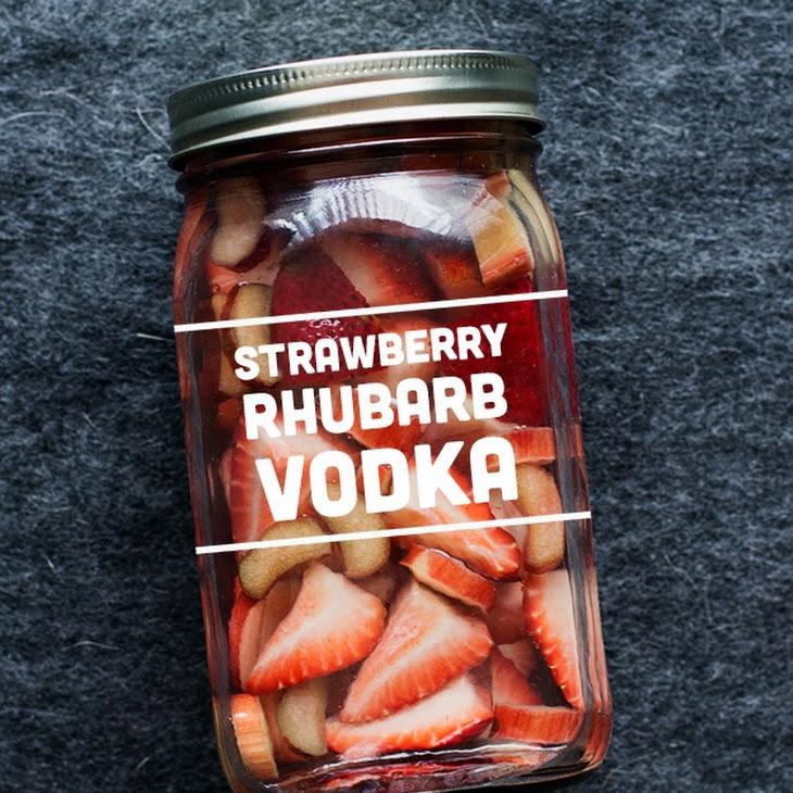 Strawberry Rhubarb Infused Vodka Recipe