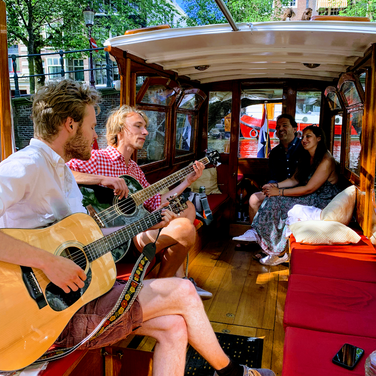 Rock That Boat/private canal boat tours & tickets, salonboot