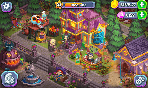 Monster Farm: Happy Ghost Village & Witch Mansion screenshots 2