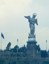Photo: The statue, seen from church tower