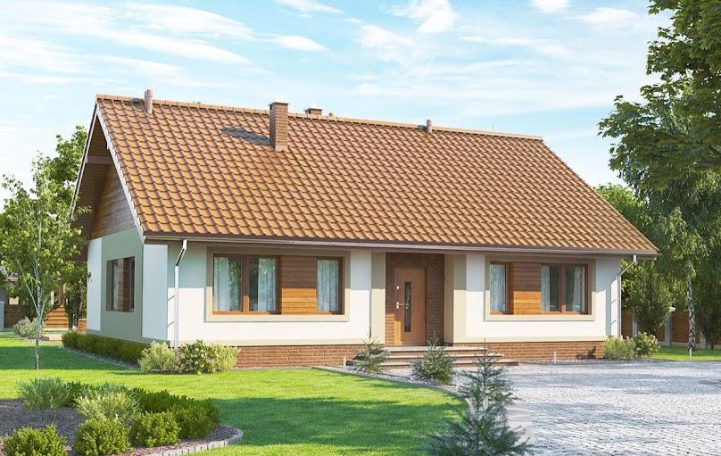 Projekt domu o prostej bryle zapewni niższe koszty budowy