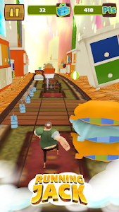 Running Jack: Super Dash Game screenshot 2