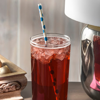 Fizzy Blueberry Pomegranate Tea.