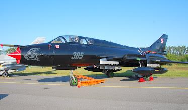Photo: Samolot szturmowy Su-22m3 w efektownym czarnym malowaniu
