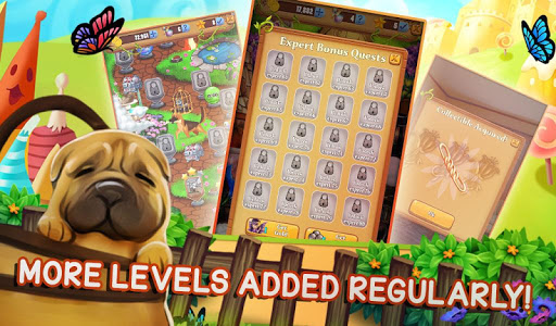 Puppy Dog Pop - Bubble Shoot Mania screenshots 16