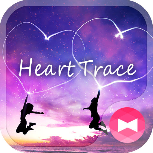 Heart Trace Wallpaper Icon
