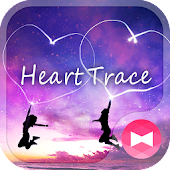 Heart Trace Wallpaper