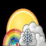 Smart weather forecast icon