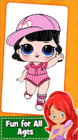 Lol Dolls Coloring game