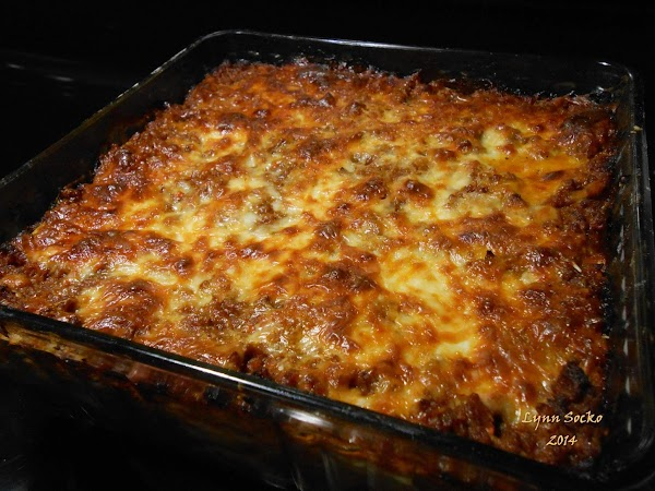 As well as LasagnaPlace small amount of ragu in bottom of baking dish and...